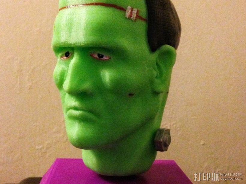 Frankie Stein游戏造型 3D模型  图1