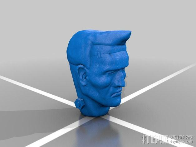 Frankie Stein游戏造型 3D模型  图4