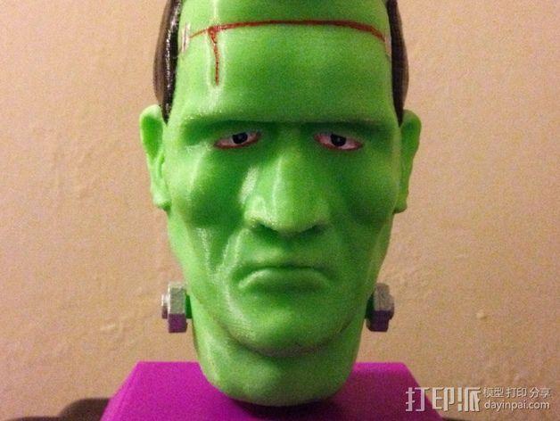 Frankie Stein游戏造型 3D模型  图6