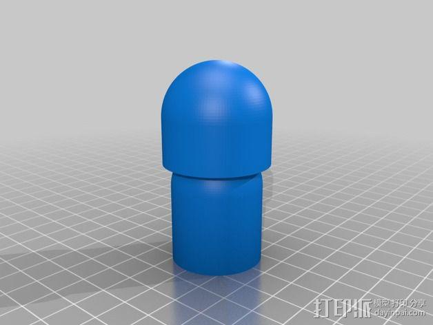 小介子玩偶 3D模型  图3