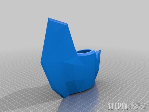 短柄小斧头 3D模型  图5