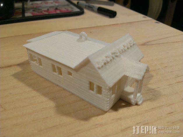 小房屋 3D模型  图2