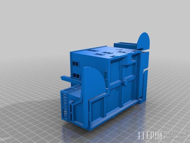 小房屋 3D模型  图4