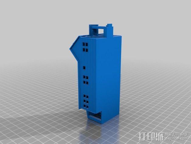 小房屋 3D模型  图3