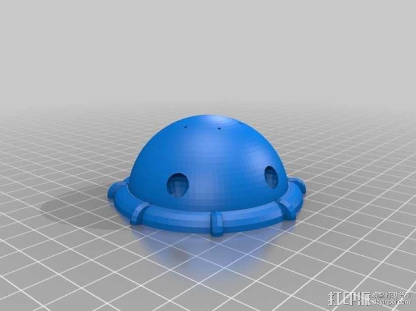 Arkon太空飞船 3D模型  图3