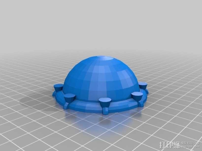 Arkon太空飞船 3D模型  图9