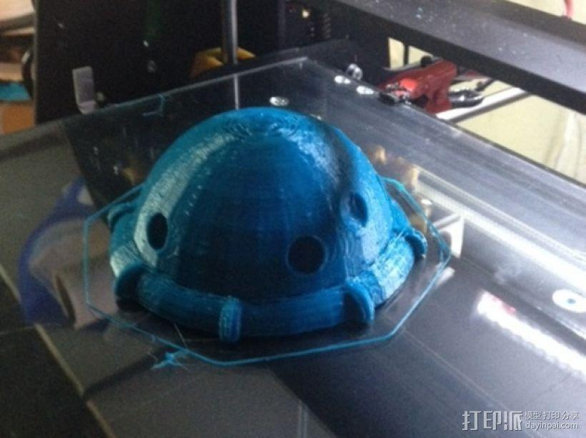 Arkon太空飞船 3D模型  图11