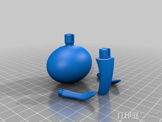 Carla 小玩偶 3D模型  图3