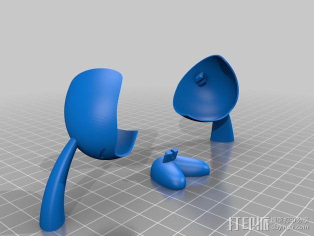 Carla 小玩偶 3D模型  图6