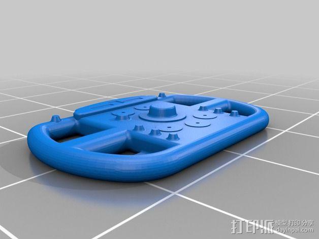 F1赛车方向盘 3D模型  图5