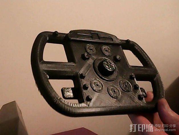 F1赛车方向盘 3D模型  图3