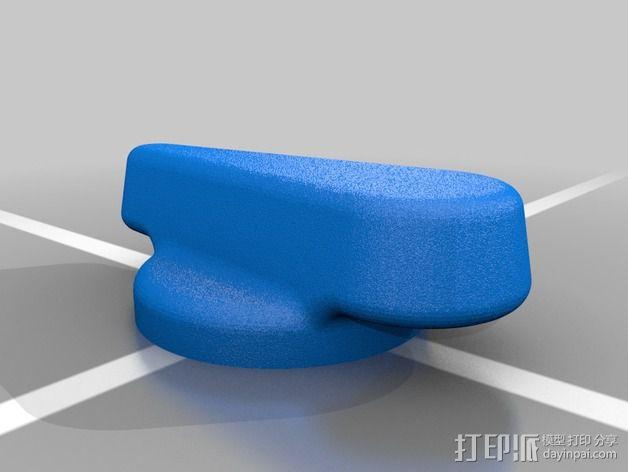 F1赛车方向盘 3D模型  图6
