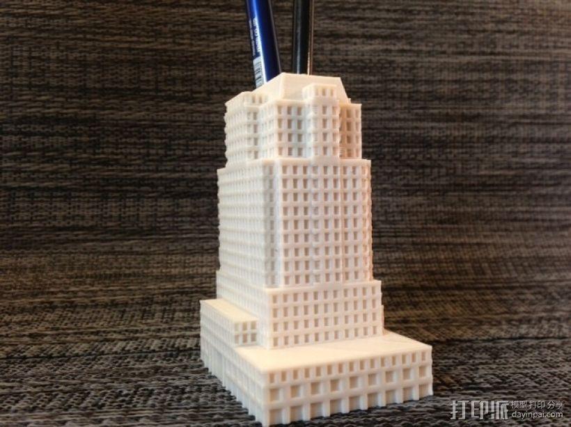 大厦 3D模型  图1