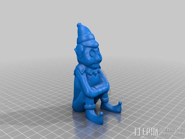 Elf小精灵 3D模型  图2