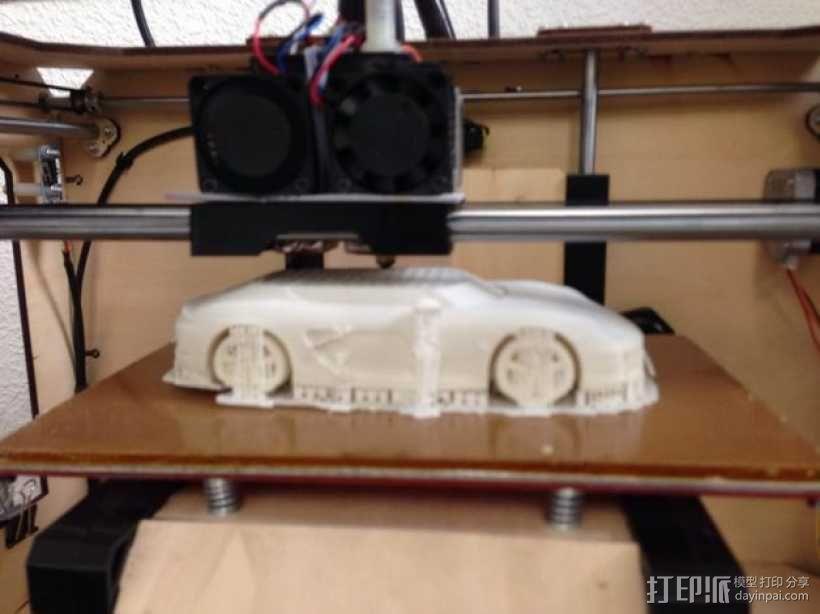 保时捷跑车 3D模型  图1