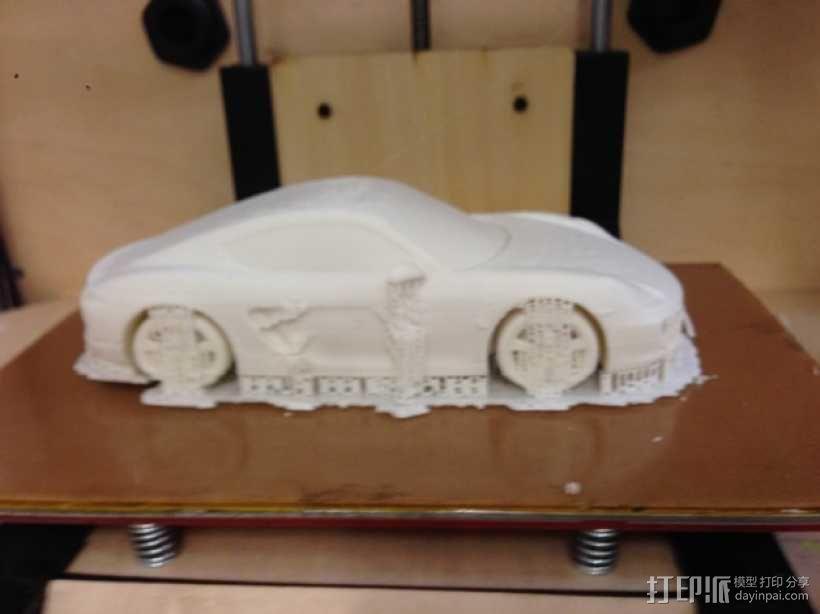 保时捷跑车 3D模型  图3