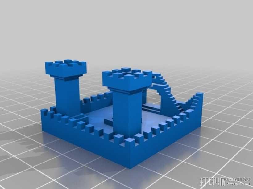 我的世界 城堡 3D模型  图2