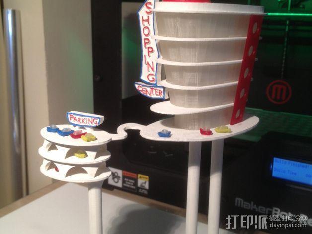 购物中心灯罩 3D模型  图2