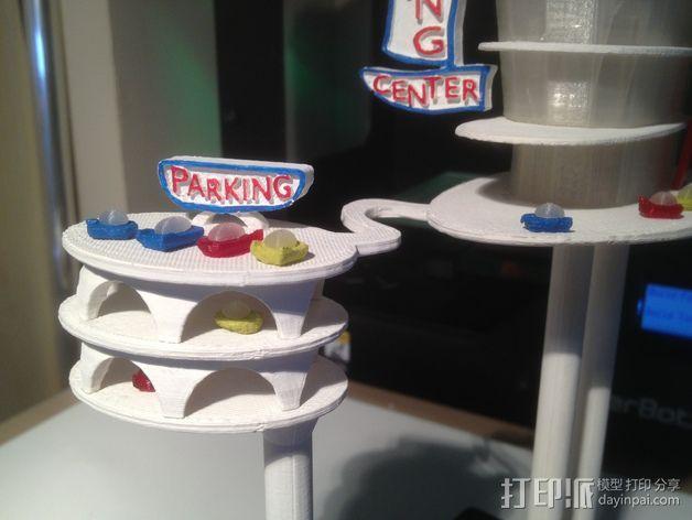 购物中心灯罩 3D模型  图4