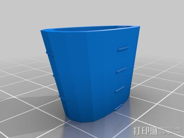 购物中心灯罩 3D模型  图7