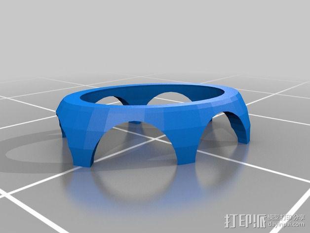 购物中心灯罩 3D模型  图12