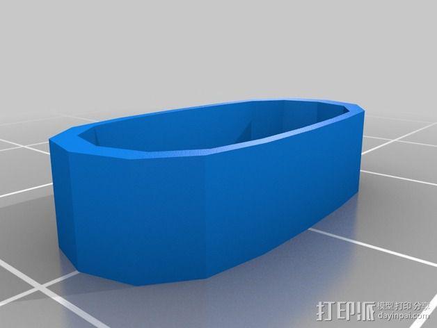 购物中心灯罩 3D模型  图15