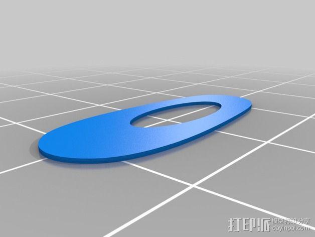 购物中心灯罩 3D模型  图16