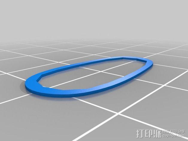 购物中心灯罩 3D模型  图18