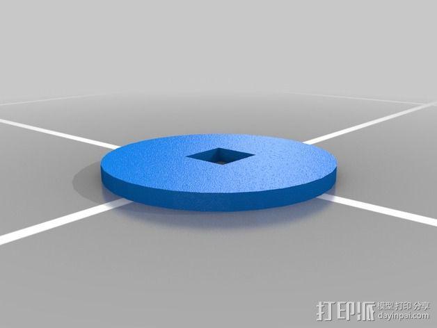 购物中心灯罩 3D模型  图20