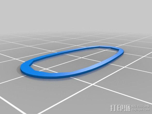 购物中心灯罩 3D模型  图19