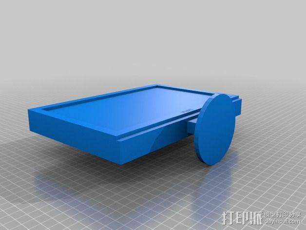 电视机 3D模型  图2