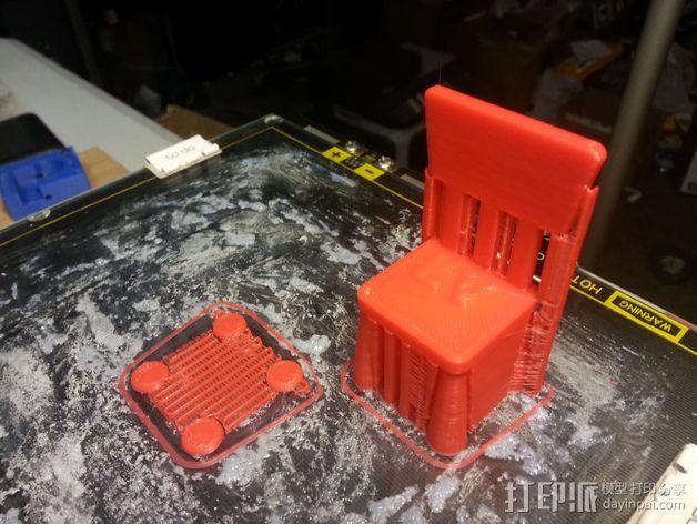 宜家儿童椅 3D模型  图2