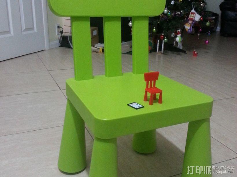 宜家儿童椅 3D模型  图5