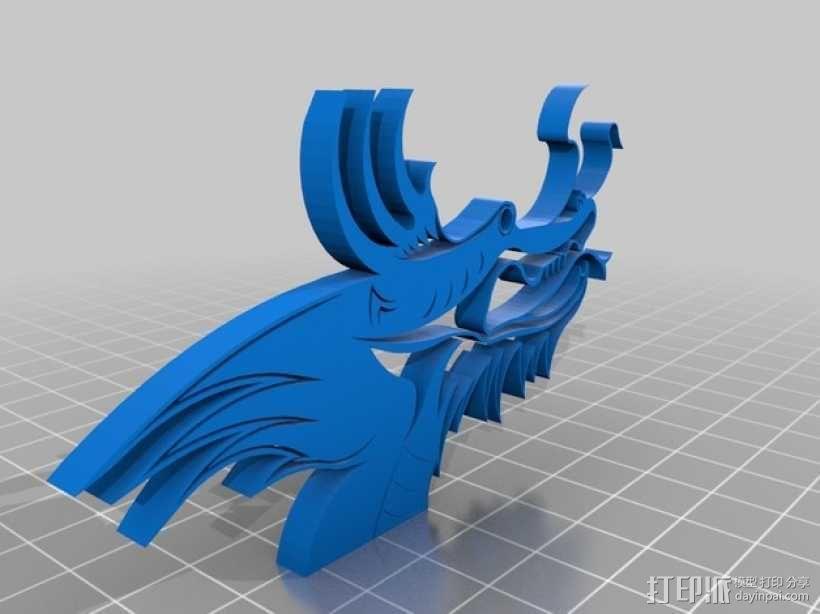 龙头 3D模型  图1