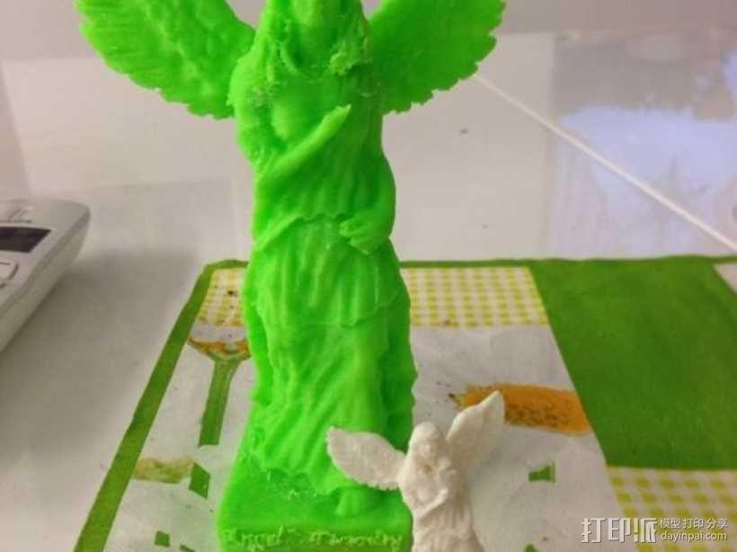 天使雕塑 3D模型  图1