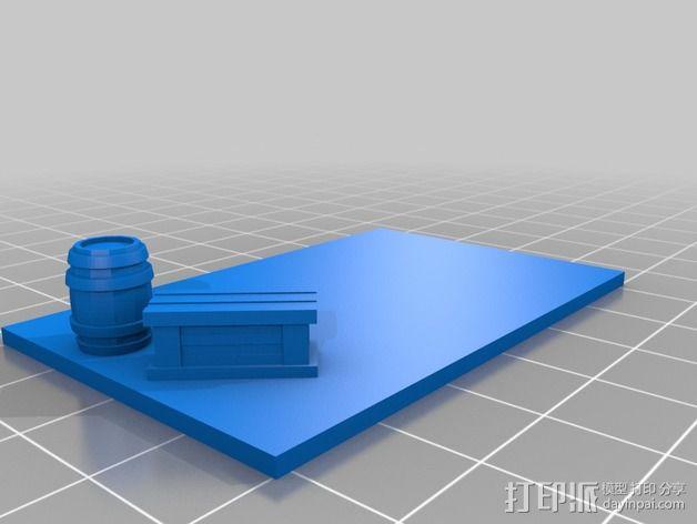 沙漠之家 建筑模型 3D模型  图2