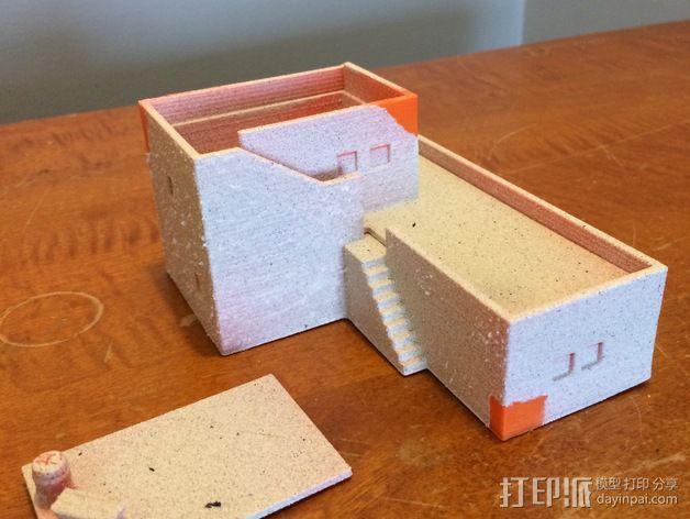 沙漠之家 建筑模型 3D模型  图4