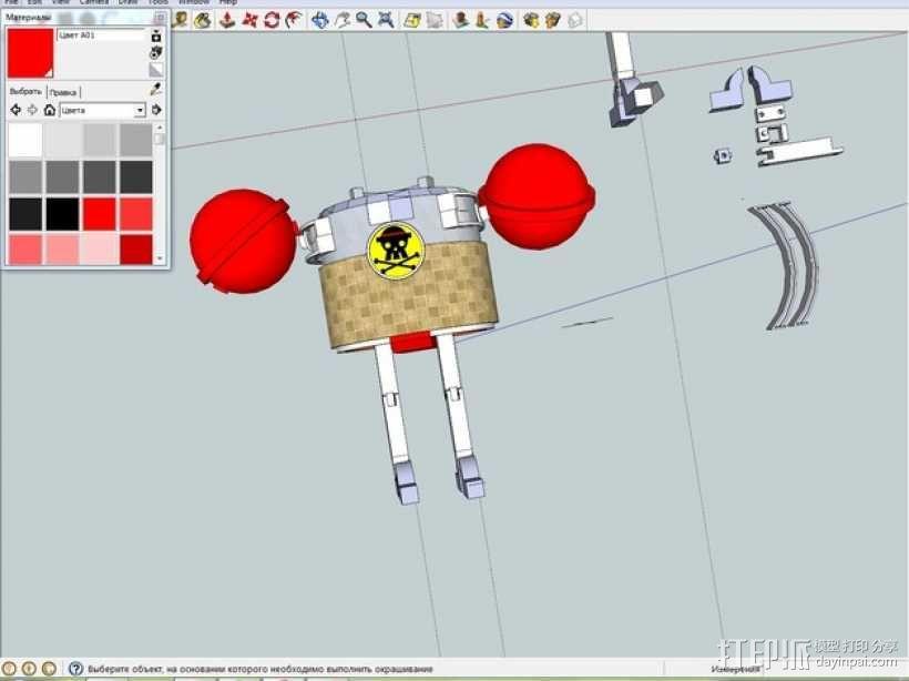 铁之海贼 3D模型  图3