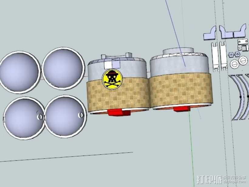 铁之海贼 3D模型  图2