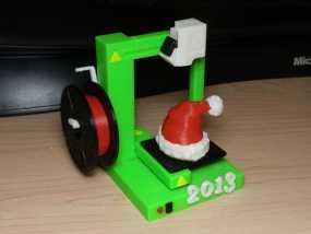 圣诞装饰品:圣诞帽 3D模型