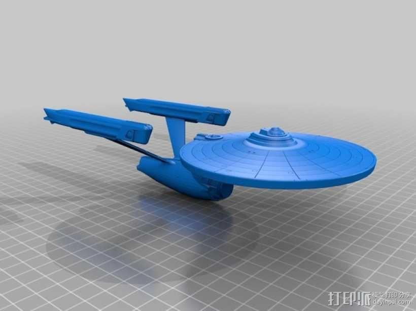 星舰 3D模型  图1