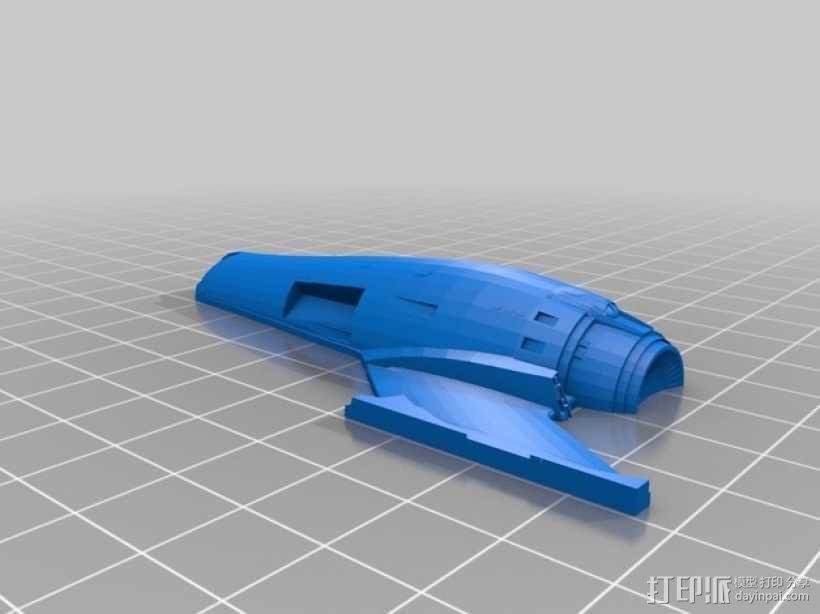 星舰 3D模型  图12