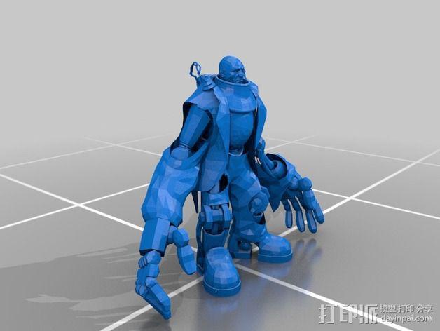 巨臂巧匠 生化奇兵 3D模型  图2