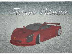 法拉利概念车 3D模型