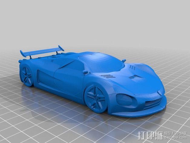 法拉利概念车 3D模型  图2