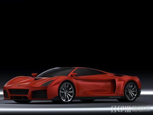 法拉利概念车 3D模型  图3