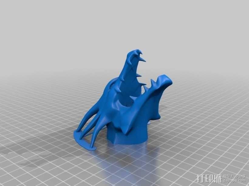 龙头装饰摆件  3D模型  图2