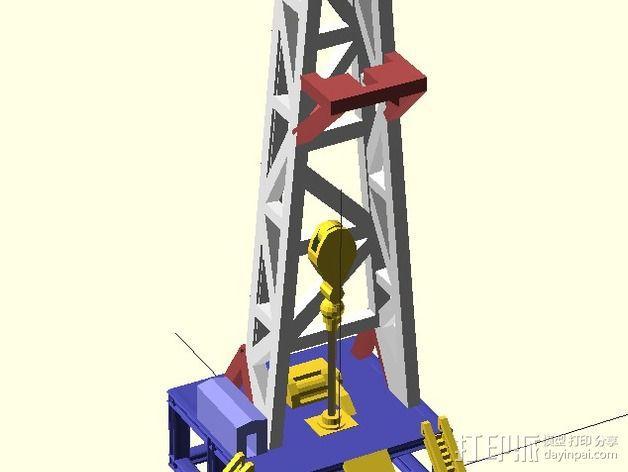 石油钻塔 3D模型  图6