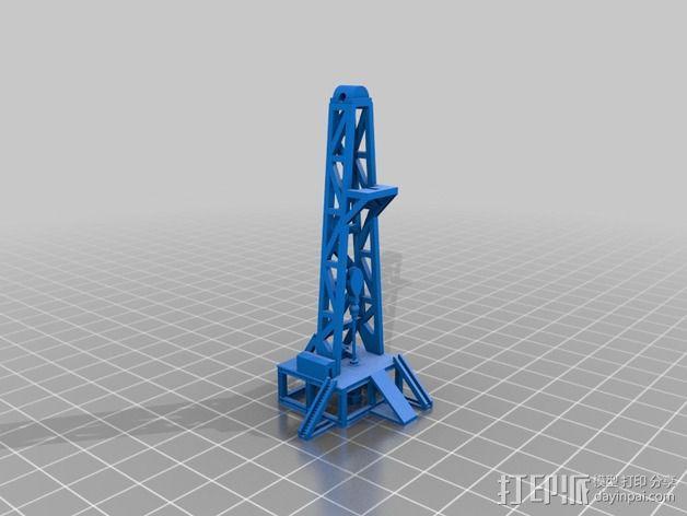 石油钻塔 3D模型  图5