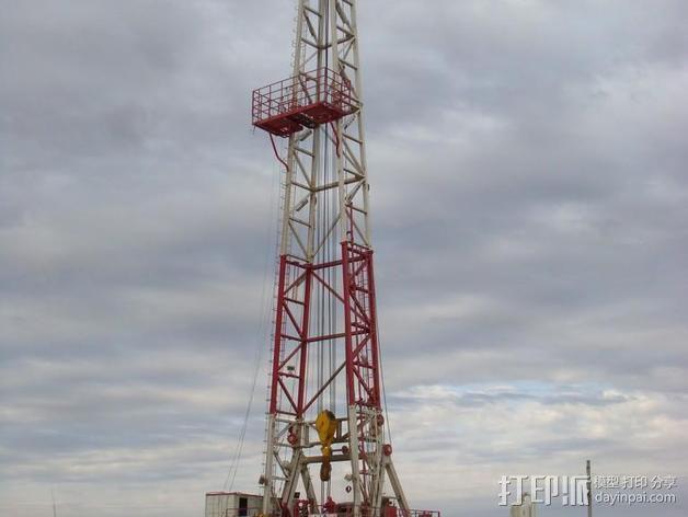 石油钻塔 3D模型  图12